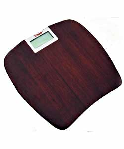 Espresso Oak Digital Scale