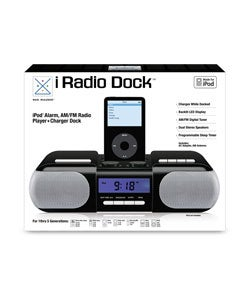 iPod Docking Station Alarm with AM/FM Radio Apple Certified