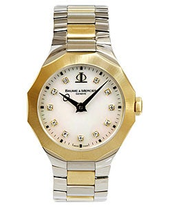 Baume & Mercier Riviera Diamond Dial Watch