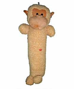 Party Pets Colossal 26-inch Monkey Stick Dog Toy