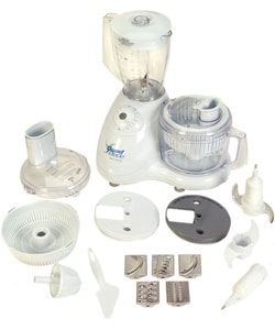 Euro-Pro Quad Blade 7-cup Food Processor