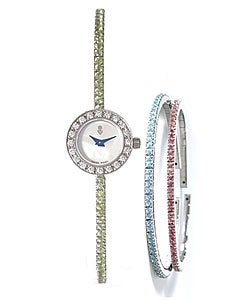 Corum Debutante Women's Gemstone Bracelet Watch