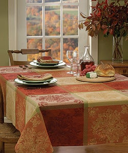 Fruitopia Cotton Jacquard Tablecloth