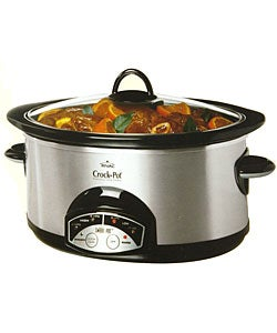 Rival 6-Quart Stainless Steel Crock-Pot