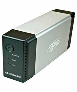 ADS NAS Drive Kit NAS-806-EF NAS Ethernet 10/100