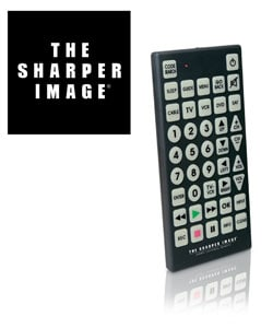 The Sharper Image Universal Jumbo Remote