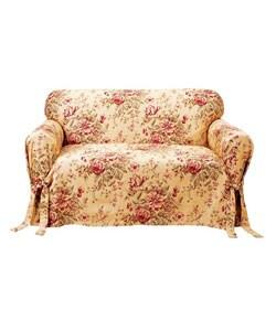 Spring Floral Sofa Slipcover