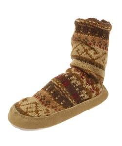 MukLuks Boy's Slipper Socks