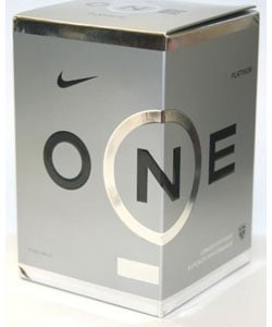 Nike ONE Platinum Golf Ball Cube (Box of 12)