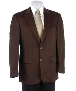 Bill Blass 2-button Camel Hair Sport Coat