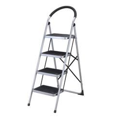 Four Step Foldable Kitchen Ladder