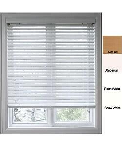 Faux Wood 34 5/8 inch Window Blinds