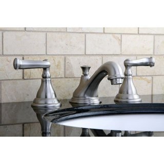 Royale Satin Nickel Widespread Bathroom Faucet