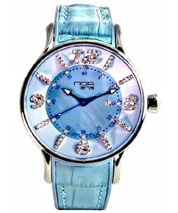 Noa Women's  Blue Dial Watch