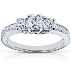 14k Gold 1/2ct TDW Diamond Engagement Ring (H-I, I1-I2)