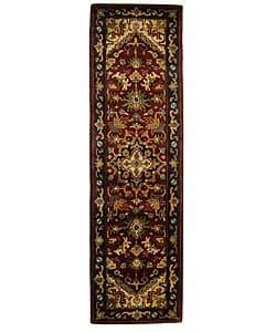 Safavieh Handmade Classic Herize Red Wool Runner (2'3 x 10')