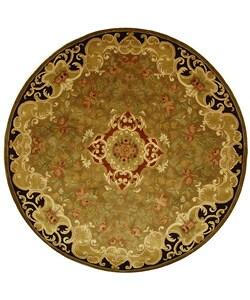 Safavieh Handmade Classic Juliette Gold Wool Rug (6' Round)