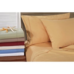 Egyptian Cotton 1000 Thread Count Striped Sheet Set