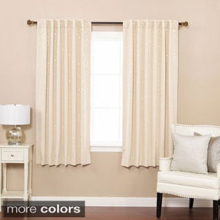 Lights Out Star Struck Insulated Thermal Blackout 63-inch Curtain Pair