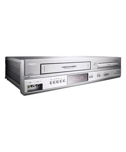 Philips Silver DVD/ VCR Combo Unit