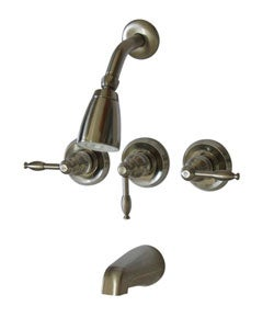 Magellan Tub/ Shower Satin Nickel Faucet