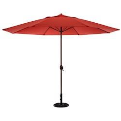 11-foot Aluminum Outdoor Umbrella with Crank