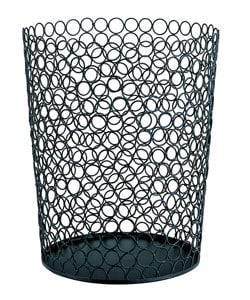 Wire Circle Round Wastebasket