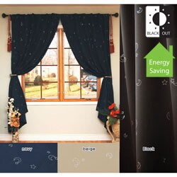 Moon Struck 84-inch Blackout Curtain Panel Pair