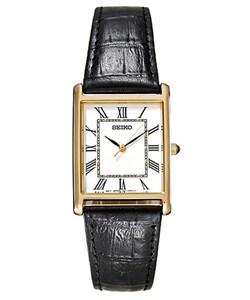 Seiko Men's SNF672 Goldtone Quartz Watch