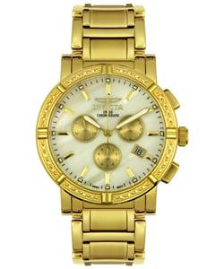 Invicta Men's Chronograph Diamond Watch