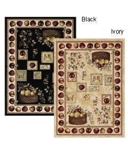 Avalon Power-woven Apple Rug (7'10 Round)