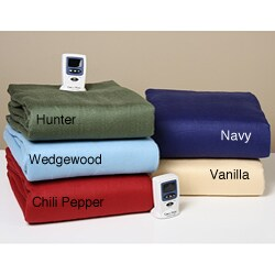 Sunbeam Premium Heated Mattress Pad ... Heated Warming Comforter Premium Luxury Full Queen Size   Bed Mattress