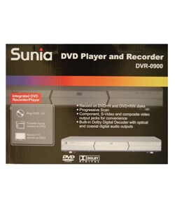 Sunia DVR-0900 DVD Player and Recorder