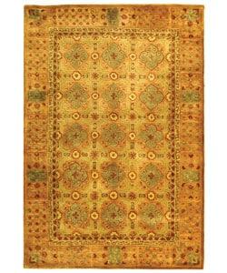 Safavieh Handmade Classic Antiquity Coral Wool Rug (5' x 8')