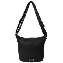 Amerileather Flapover Cross-body Comfortable Unisex Messenger Bag
