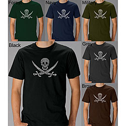 Los Angeles Pop Art Men's Pirate Flag Jolly Roger T-shirt
