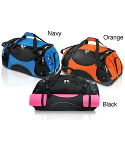 G Pacific 26-inch Side Shoes Pocket Unisex Strapped Sport Duffel Bag