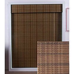 Tibetan Bamboo Roman Shade (34 in. x 98 in.)