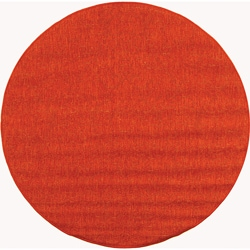 Indoor/ Outdoor St. Barts Red Rug (5'3 Round)