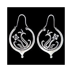 'Heirloom' Sterling Silver Earrings (Mexico)