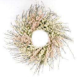 Larkspur Wreath