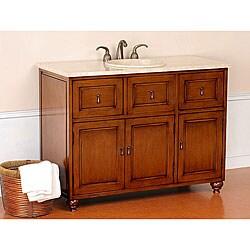 Linus 48-inch Single Sink Bathroom Vanity