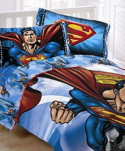 Superman Comforter Ensemble
