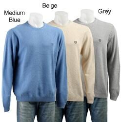 Chaps Men's Long-sleeve Textured Sweater