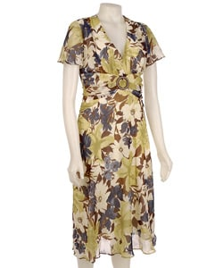 Sheri Martin New York Women's Floral Dress