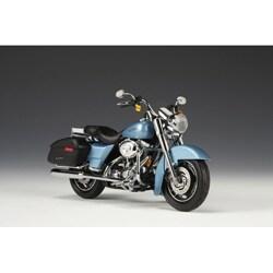 2007 Harley-Davidson FLHRS Suede Blue Road King