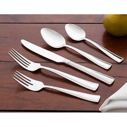 Wallace Portico 65-piece Stainless Steel Flatware Set | Overstock.