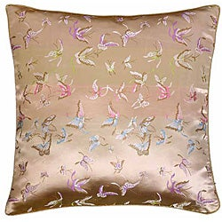 Butterflies on Gold Pillow Sham