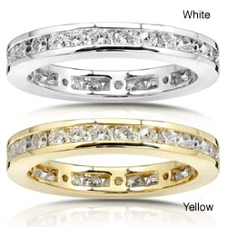 14k Gold 1ct Diamond Channel Set Eternity Ring
