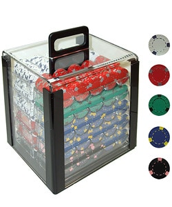 Pro Clay 1000-piece Casino Poker Chip Set